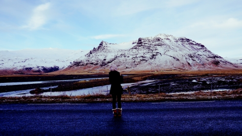 on the way to Vik